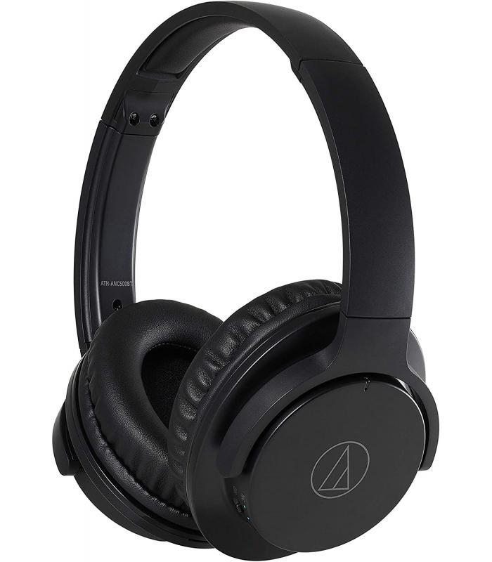 Audio-Technica  Wireless Active Noise-Cancelling Headphones ATH-ANC500BTBK