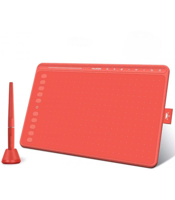 HUION HS611 Red Graphics Drawing Tablet