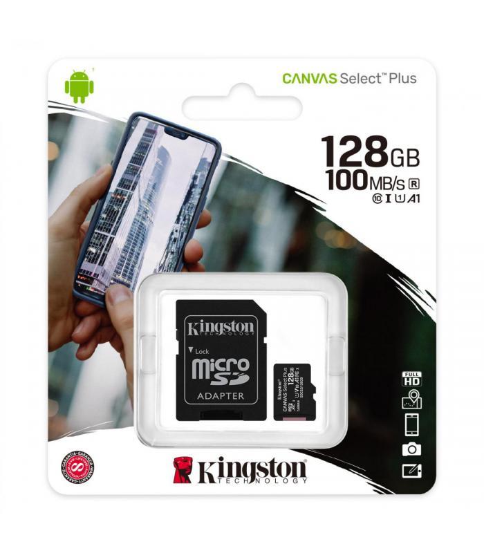 Kingston 128GB microSDXC Canvas Select Plus A1 Class 10
