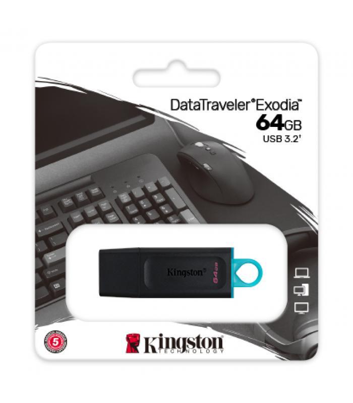 Kingston DataTraveler Exodia 64GB USB Flash