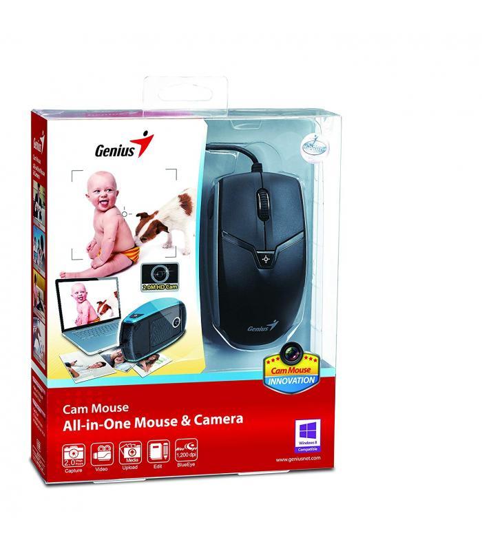 Genius CAM USB Mouse  BlueEye 2.0M 720P