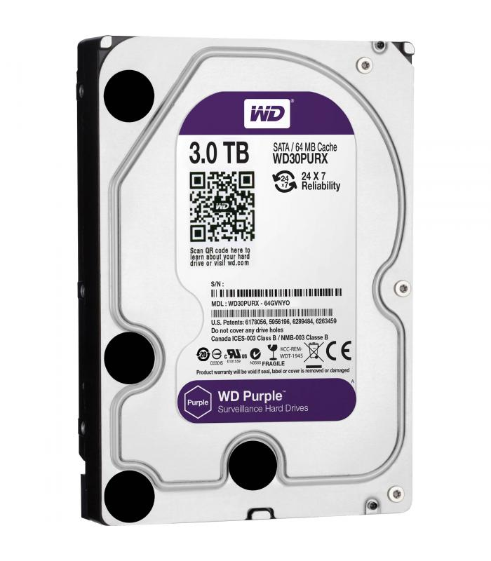 WD Purple 3 TB SATA Hard Drive
