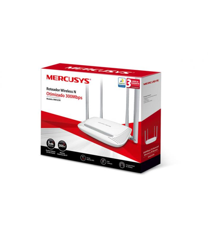 Mercusys MW325R WIRELESS N 300  ROUTER
