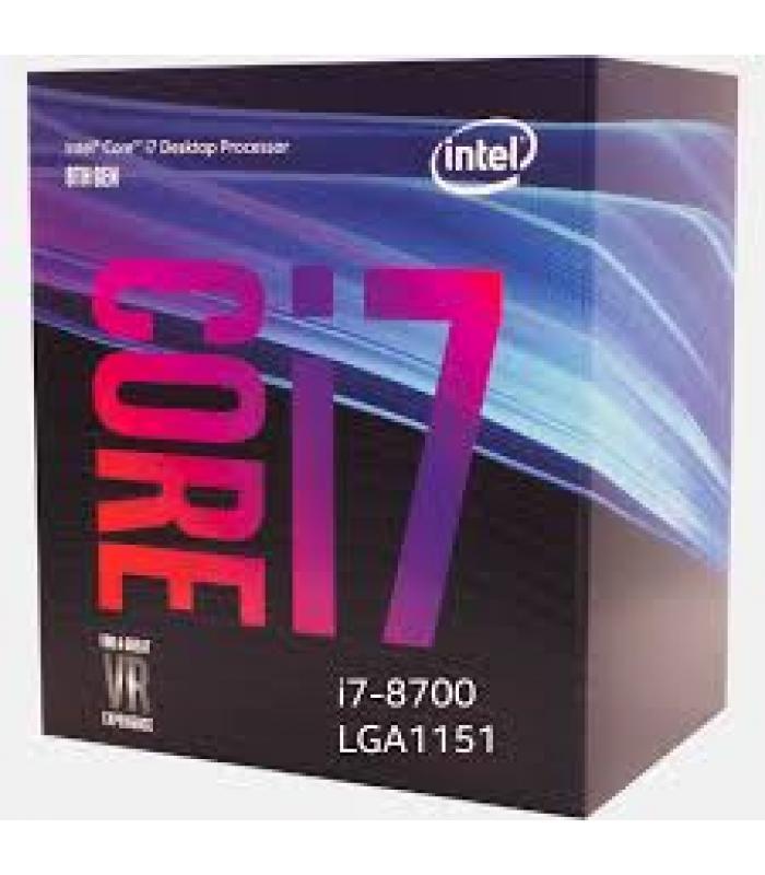Intel Processor i7-8700