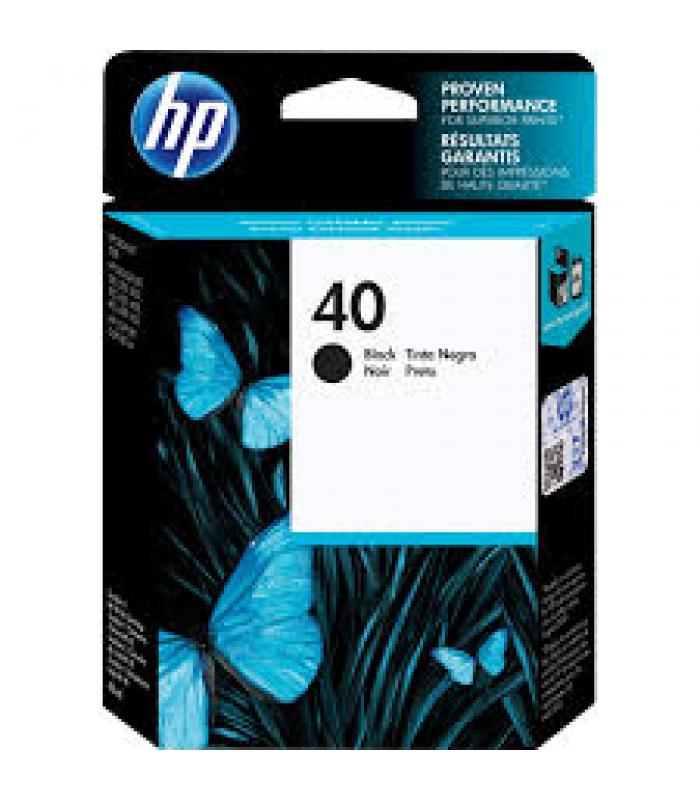 Cartridge HP Inkjet No 40 Black