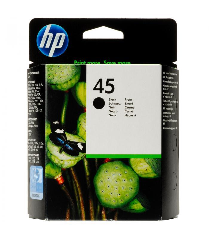 Cartridge HP Inkjet No 45 Black