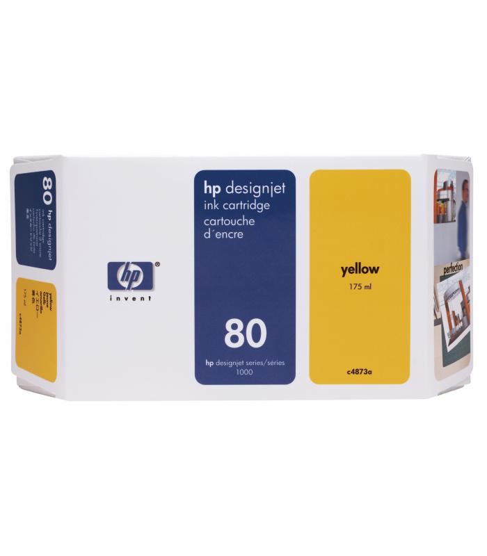 Cartridge HP Inkjet No 80 Yellow