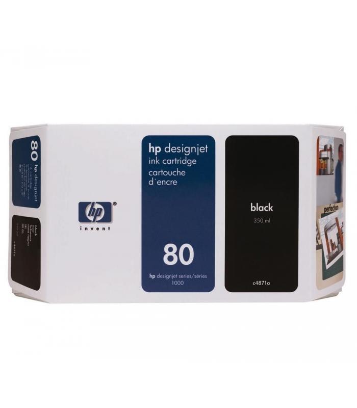 Cartridge HP Inkjet No 80 Black
