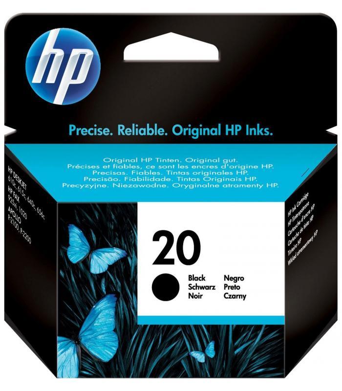 Cartridge HP Inkjet No 20 Black