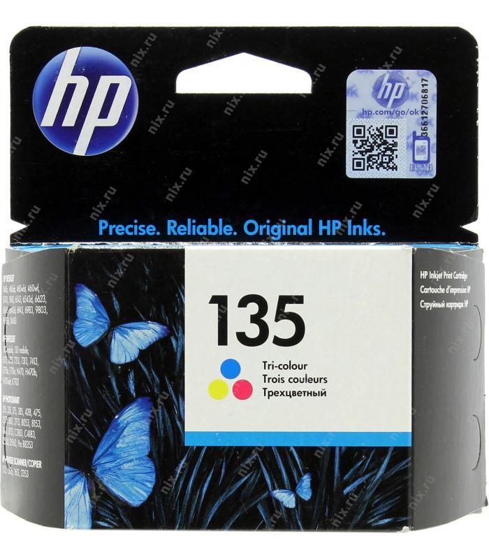 Cartridge HP 135 Tri-Colour Ink