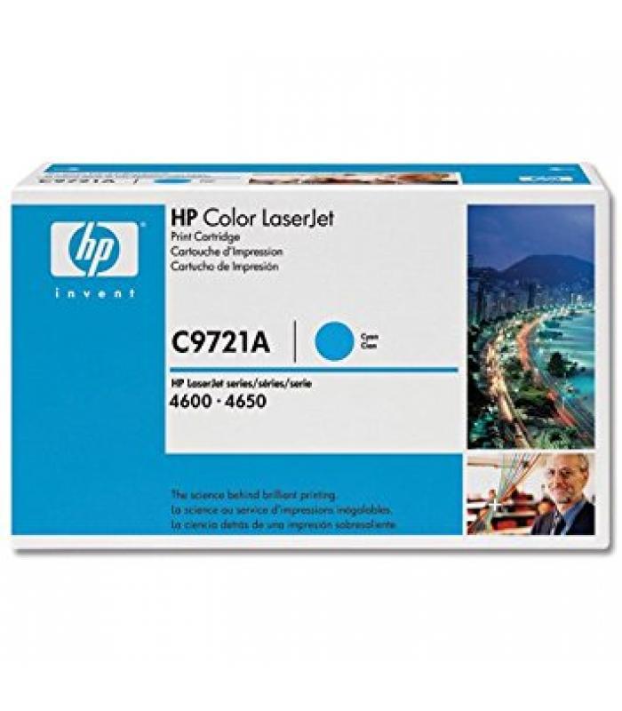 Cartridge HP Toner  For CLJ4600 Cyan