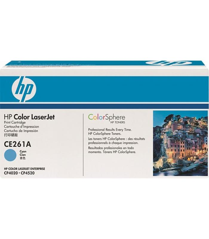 Cartridge HP Laser CE261A Cyan