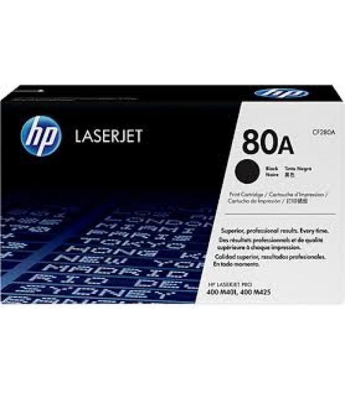 Cartridge HP Laser No 80A Black