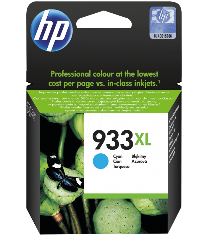 Cartridge HP Inkjet No 933XL Cyan