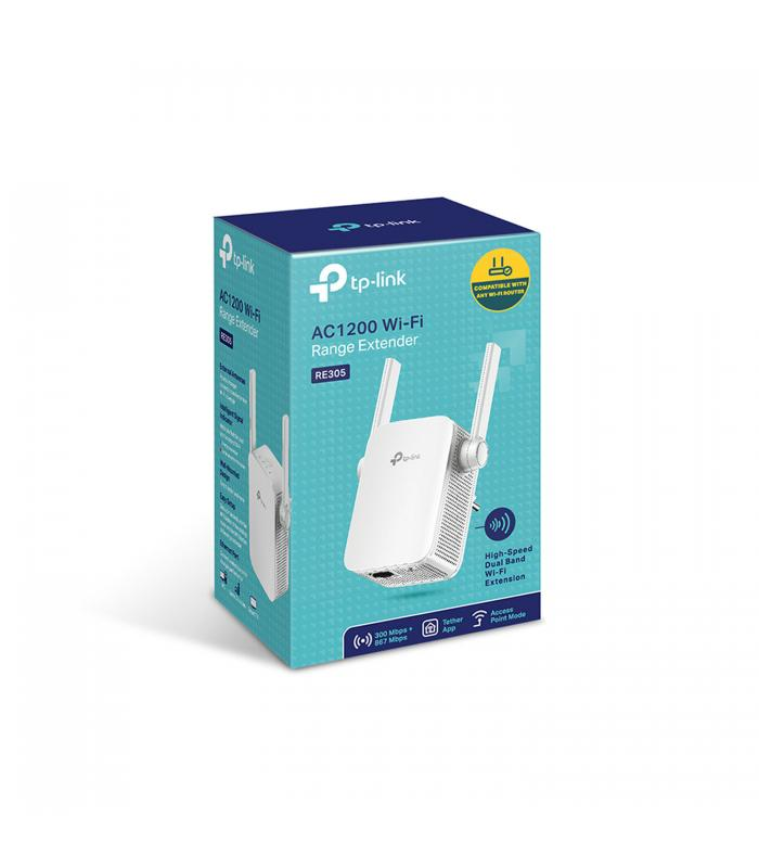 TP-Link RE300 AC1200 Dual Band WiFi Range Extender