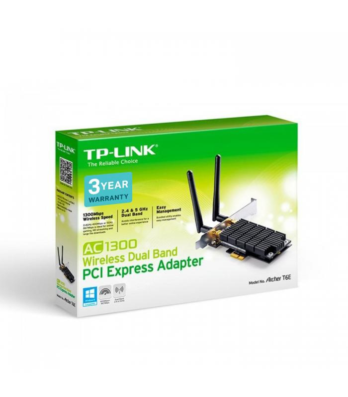 TP-Link Archer T6E AC1300 Wireless Dual Band Adapter