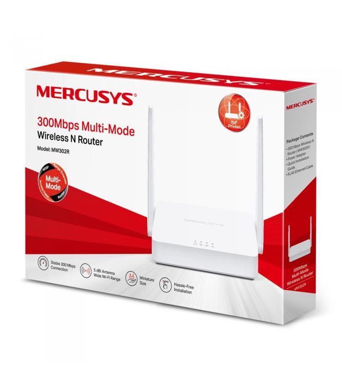 Mercusys MW302R WIRELESS N 300  Multi-Mode