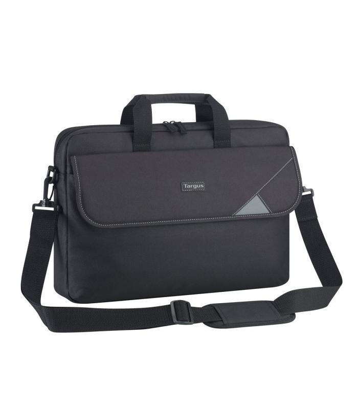 "Targus Intellect 15.6"" Topload Laptop Case - Black/Grey"