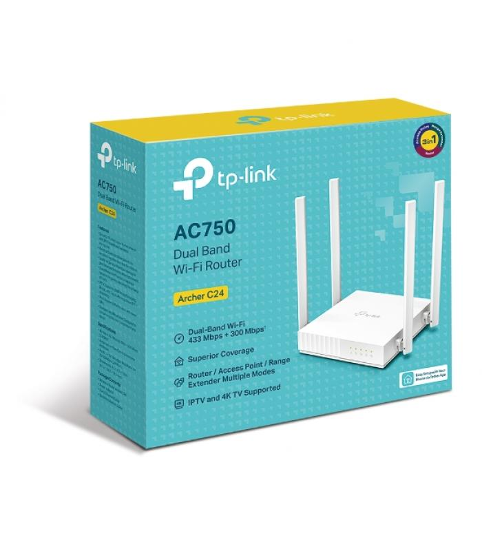 TP-Link ARCHER C24 AC750 Wireless Router