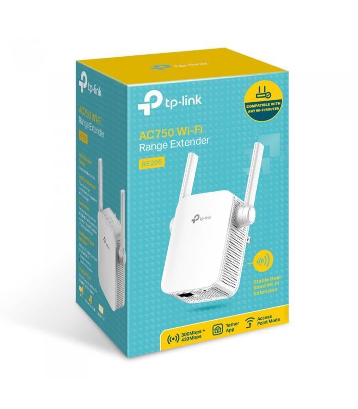 TP-Link AC750 Wi-Fi Range Extender RE205